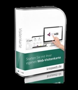 Paket 1 - Web-Visitenkarte